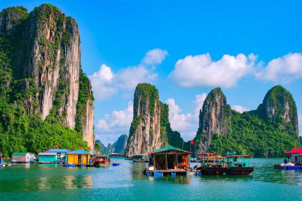 Thailand beach and boats